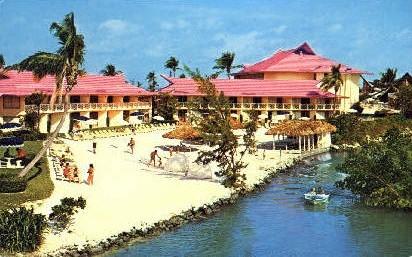 Castaways Motel - Miami Beach, Florida FL Postcard