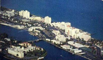 St. Francis Hospital - Miami Beach, Florida FL Postcard