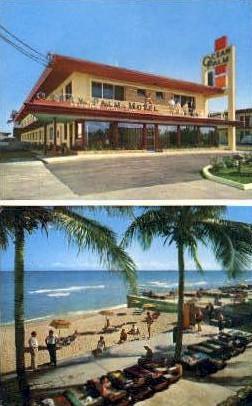 Ocean Palm Motel - Miami Beach, Florida FL Postcard