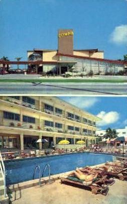 Olympia Motel - Miami Beach, Florida FL Postcard