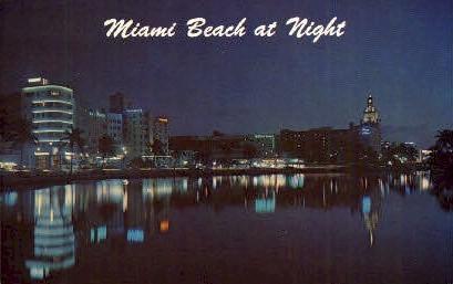 Miami Beach, Florida, FL Postcard