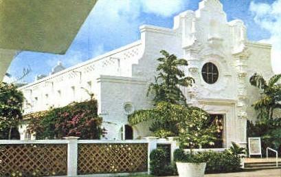 Miami Beach Community Church - Florida FL Postcard