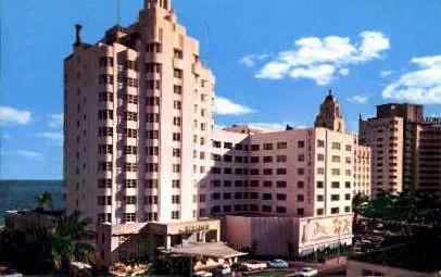Versailles Hotel - Miami Beach, Florida FL Postcard