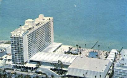 Carillon Hotel - Miami Beach, Florida FL Postcard