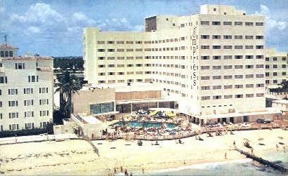 Empress Hotel - Miami Beach, Florida FL Postcard