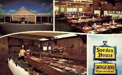 Sweden House - Miami Beach, Florida FL Postcard