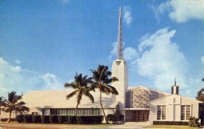 Church-by-the-Sea - Miami Beach, Florida FL Postcard