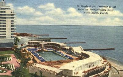 Fontainebleau Hotel - Miami Beach, Florida FL Postcard