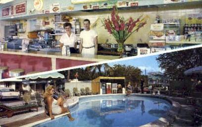 Sunny Isle Motel Court - Miami Beach, Florida FL Postcard