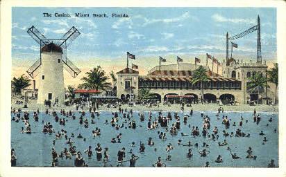 The Casino - Miami Beach, Florida FL Postcard