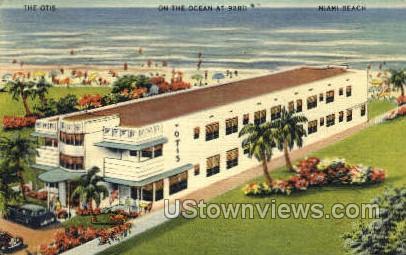 The Otis - Miami Beach, Florida FL Postcard