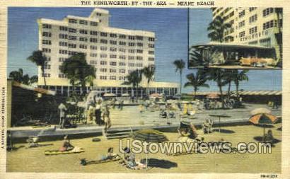 Kenilworth - Miami Beach, Florida FL Postcard