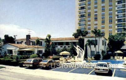 Casa Granada Apts - Fort Lauderdale, Florida FL Postcard