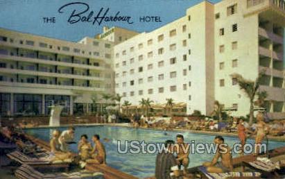 Bal Harbour Hotel - Miami Beach, Florida FL Postcard