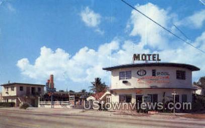 Ken-Lin Motel - Miami, Florida FL Postcard