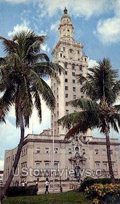 Freedom Tower - Miami, Florida FL Postcard