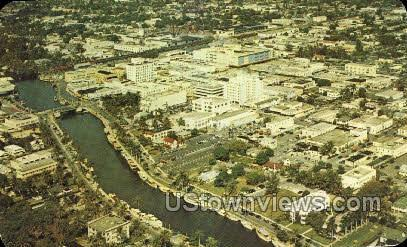 Downtown - Fort Lauderdale, Florida FL Postcard