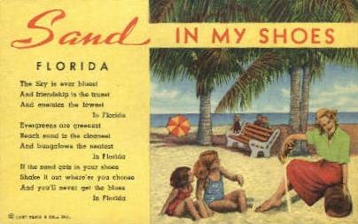 Misc, Florida, FL Postcard