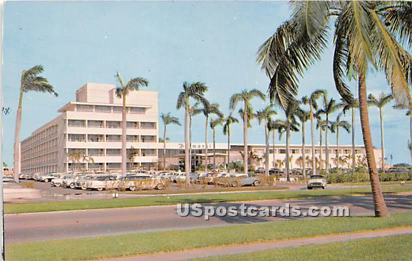 Balmoral Hotel - Miami Beach, Florida FL Postcard