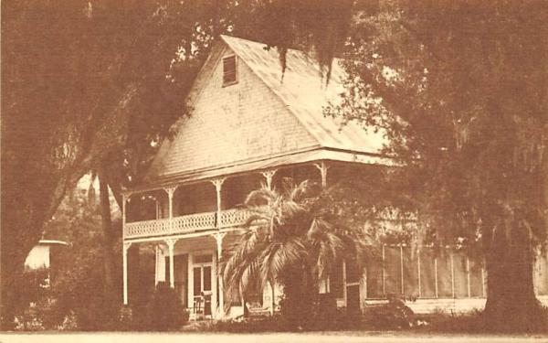 The McIntosh Hotel Florida Postcard