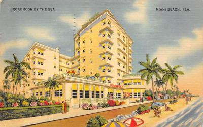 Broadmoor By The Sea Miami, Florida Postcard