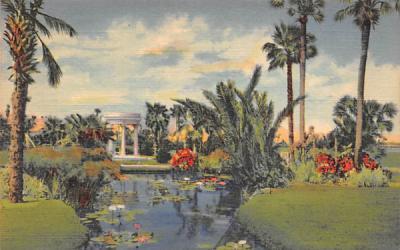 A Peaceful Retreat, FL, USA Misc, Florida Postcard