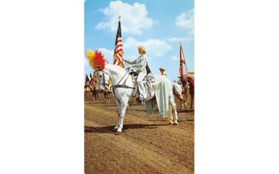 The Parade of States at Gulfstream Park Misc, Florida Postcard