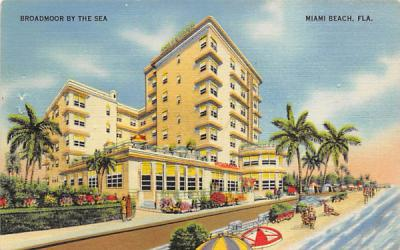 Broadmoor By The Sea Miami Beach, Florida Postcard
