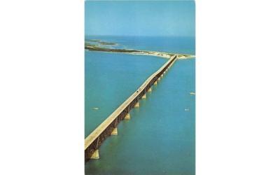 Bahia Honda Bridge Overseas Highway Misc, Florida Postcard