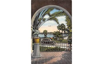 A Beautiful Vista in Sunny Florida, USA Postcard