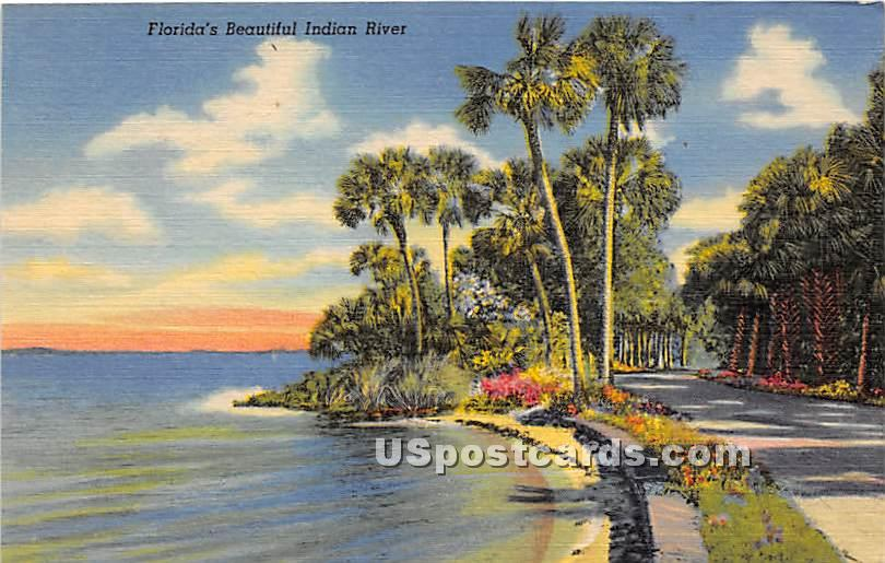 Indian River County Court House - Misc, Florida FL Postcard