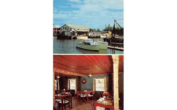 Fishhouse Dining Room Naples, Florida Postcard