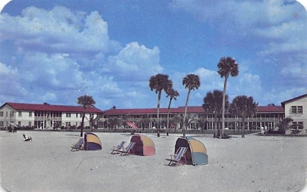 Naples Gulf Apartment Hotel Florida Postcard