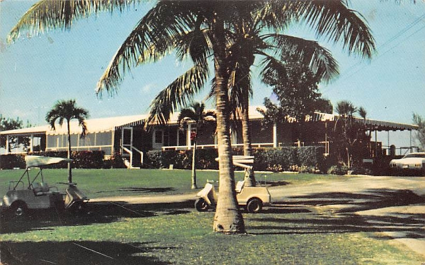 Country Club, Ocean Reef North Key Largo, Florida Postcard