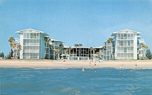 Edgewater Beach Apartments Naples, Florida Postcard