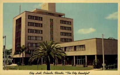 City Hall - Orlando, Florida FL Postcard