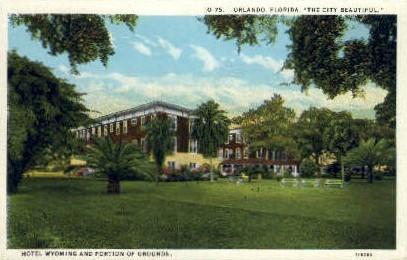 Wyoming Hotel - Orlando, Florida FL Postcard