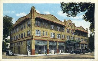Avalon Hotel - Orlando, Florida FL Postcard