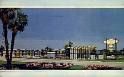 Colonial Plaza Motel - Orlando, Florida FL Postcard