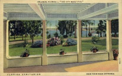 Florida Sanitarium - Orlando Postcard