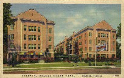 Orange Court Hotel - Orlando, Florida FL Postcard