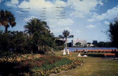 Plaza Hotel - Orlando, Florida FL Postcard