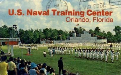 U. S. Naval Training Center - Orlando, Florida FL Postcard