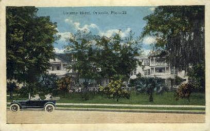 Lucerne Hotel - Orlando, Florida FL Postcard