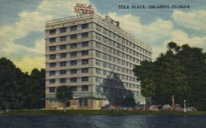 Eola Plaza - Orlando, Florida FL Postcard