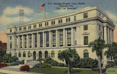 Orange County - Orlando, Florida FL Postcard