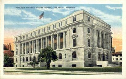 Court House - Orlando, Florida FL Postcard