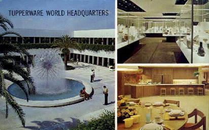 Tupperware World Headquarters - Orlando, Florida FL Postcard