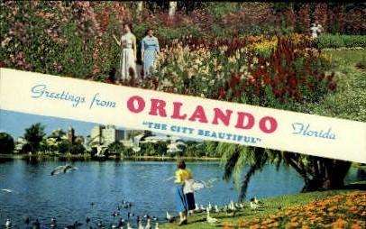 Orlando, Florida, FL Postcard