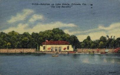 Solarium on Lake Estelle - Orlando, Florida FL Postcard